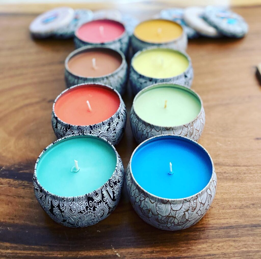 How to make a scented soy candle