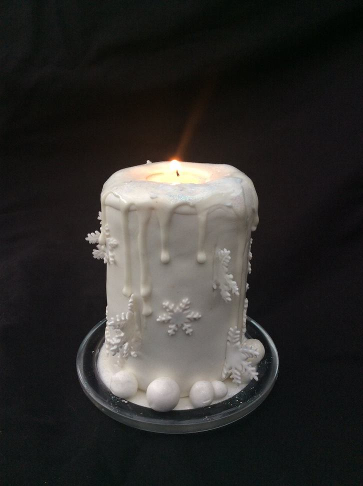 How to make your own cake candles