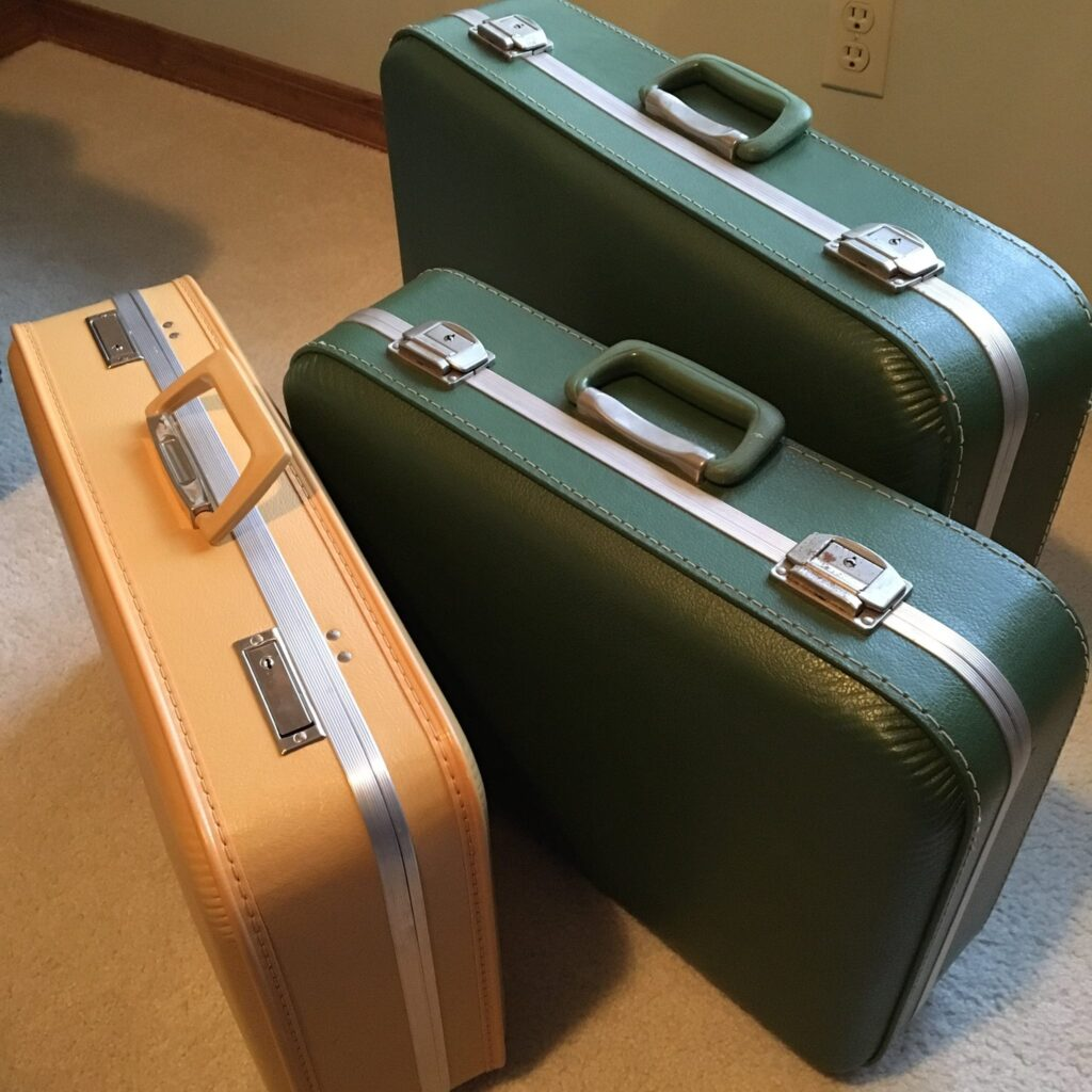 clean luggage