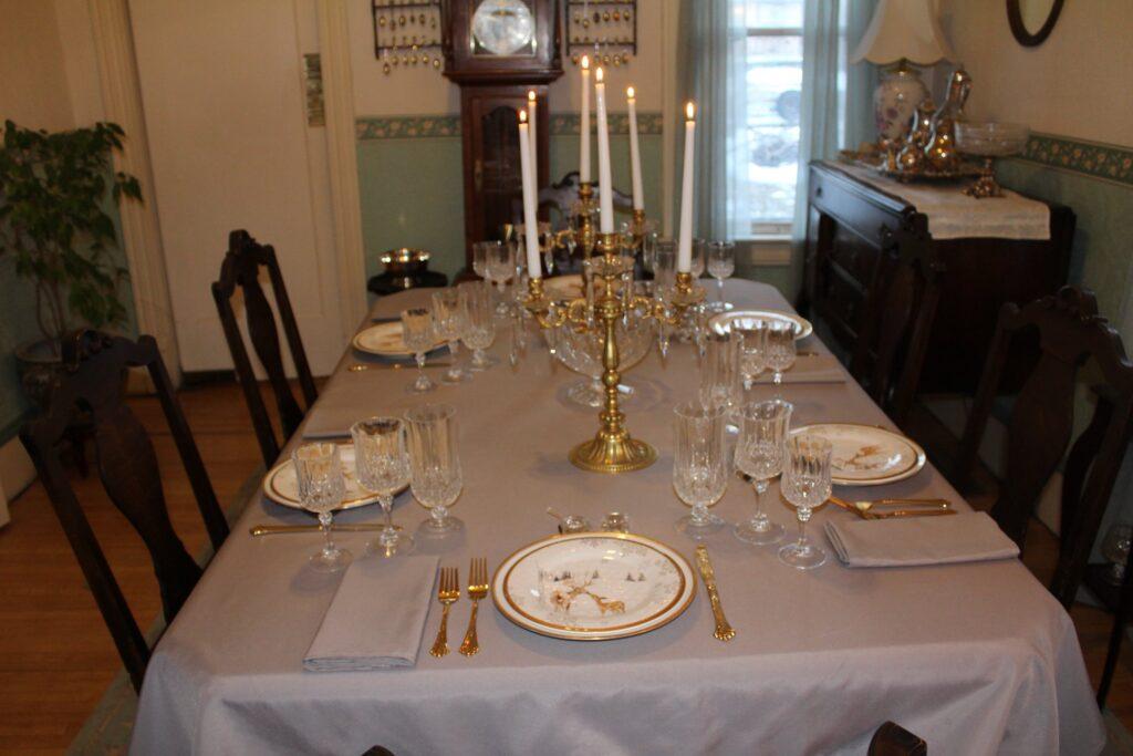 Formal Dinner Table