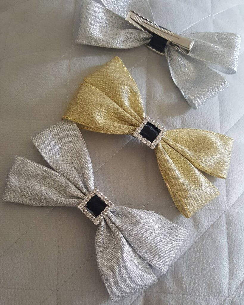 How to make hair bows on clips