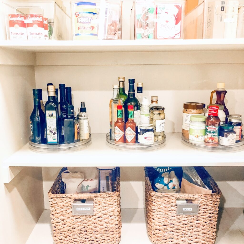 organize a grocery list