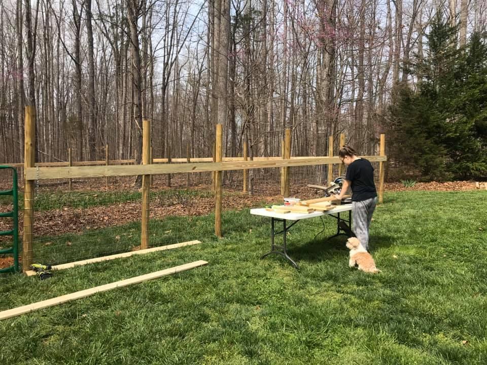 build pasture fences
