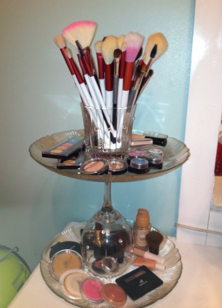 How to organize makeup diy