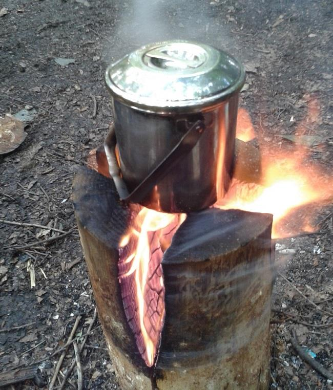 How to make fire logs