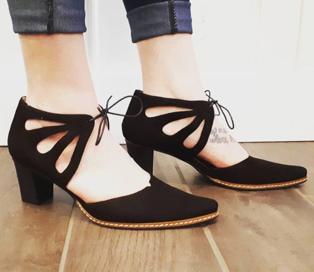 How to choose slingback heels