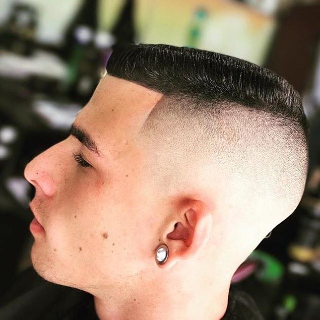 How to cut a flat top haircut