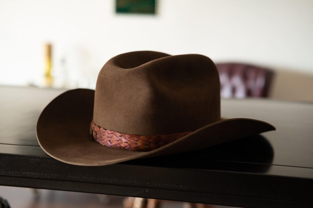 How to make interchangeable hat bands
